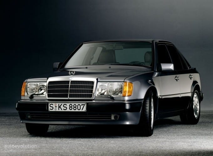 The actual first photo I ever saw of a 500E that was published in 1991 in Car and Driver magazine.