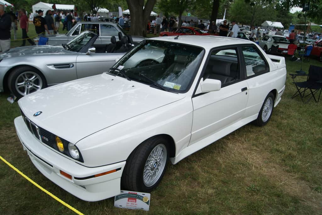 A beautiful E30 BMW M3