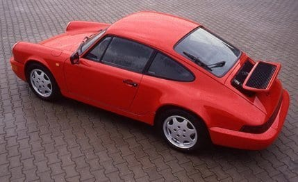 One my favorite cars, the 1990 911 Carrera 4.