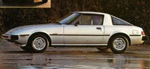 The 1978 Mazda RX-7 set a new standard in affordable and stylish sports cars.