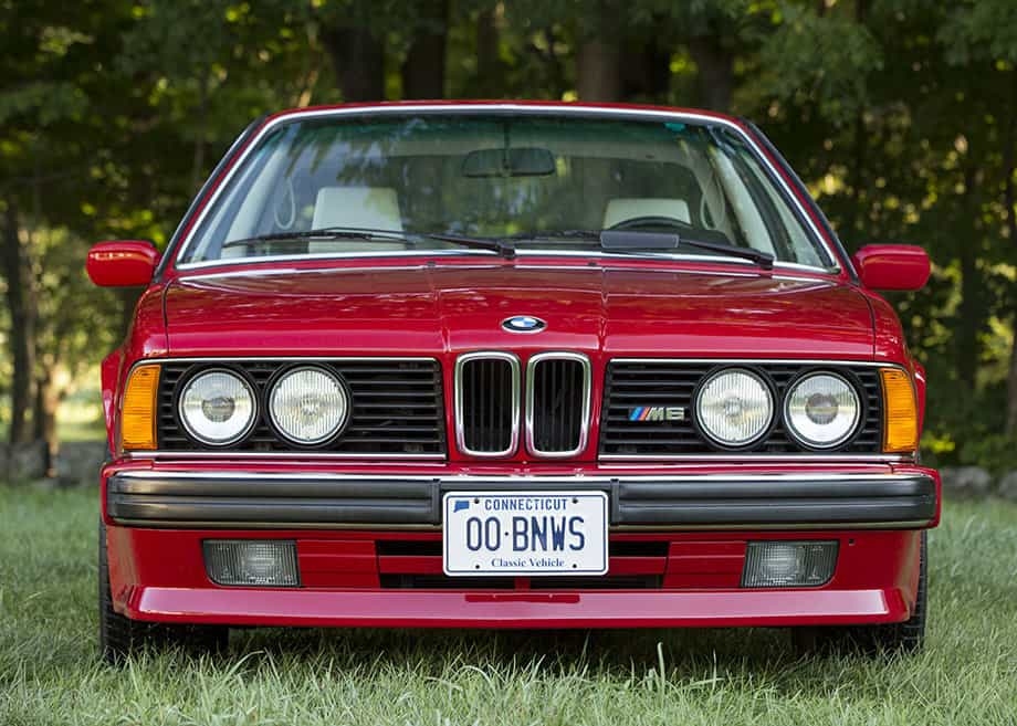 The collection turtle garage the 1988 bmw e24 m6 an emerging collectible classic fandeluxe Image collections