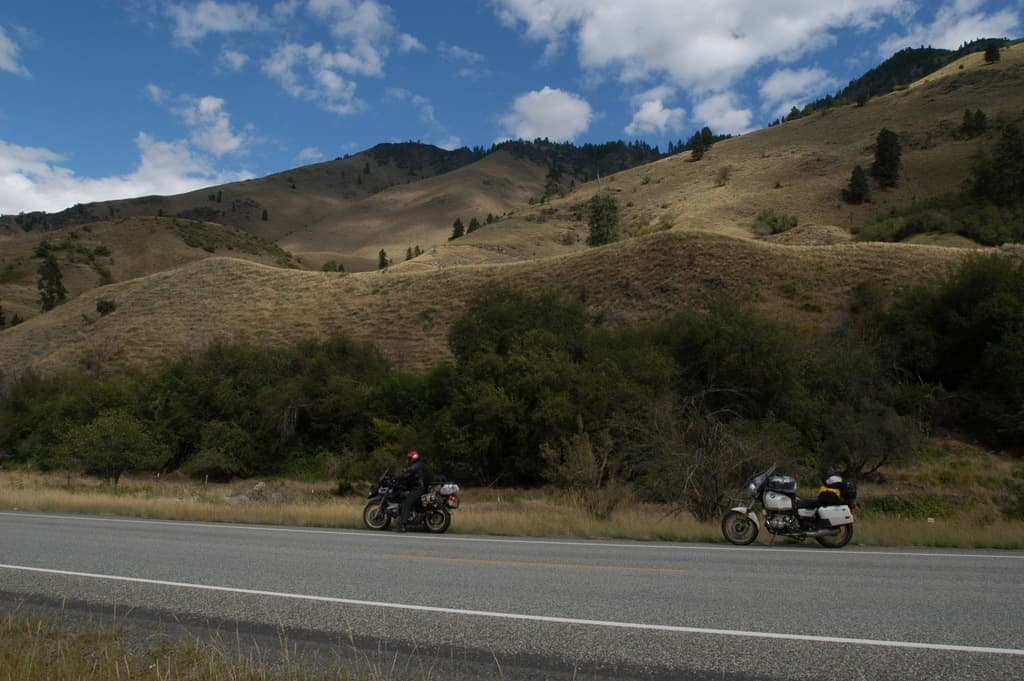 Scenic Route 55 out of Boise