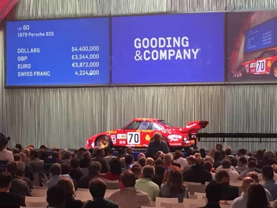 Paul Newman's Porsche hit $4.5M.