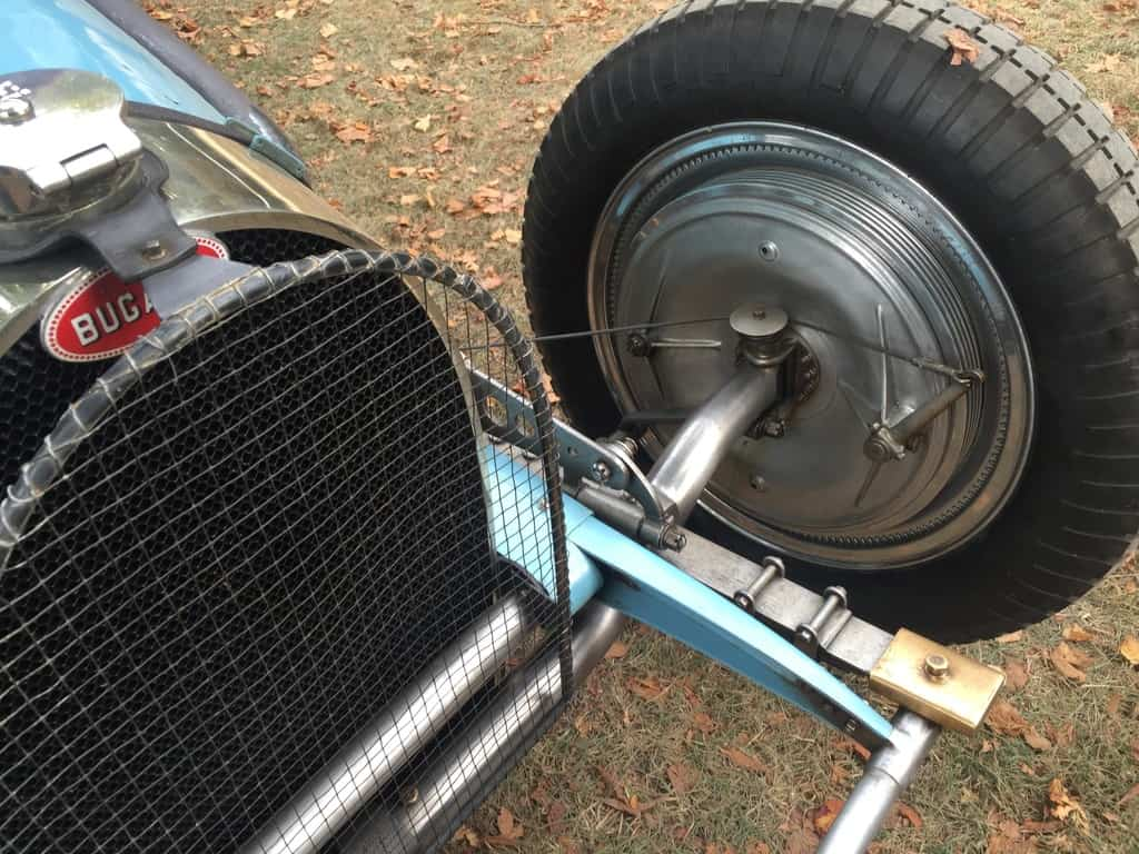 Bugatti break line and linkage system.
