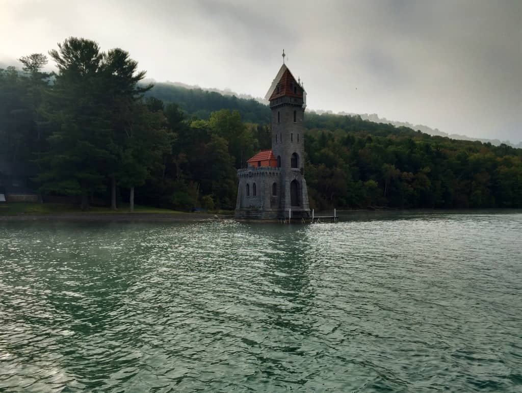 Kingfisher Tower on Lake Otsego