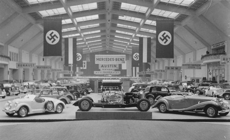 1936 berlin auto show a retrospective turtle garage for Garage automobile paris 12