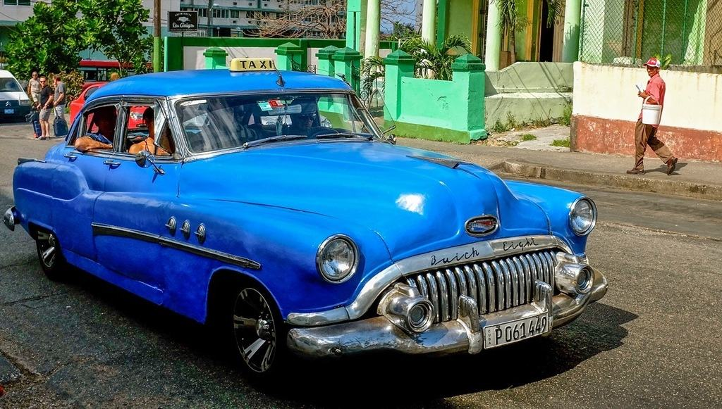 A common sight in Havana-a Buick full of guys (Photo by Sarah Willeman)