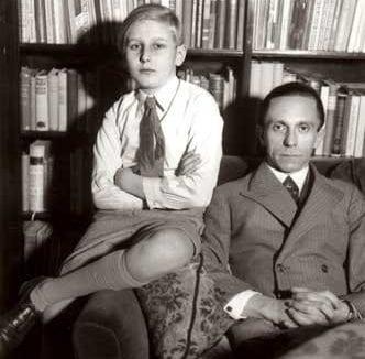 Harald Quandt and Joseph Goebbels