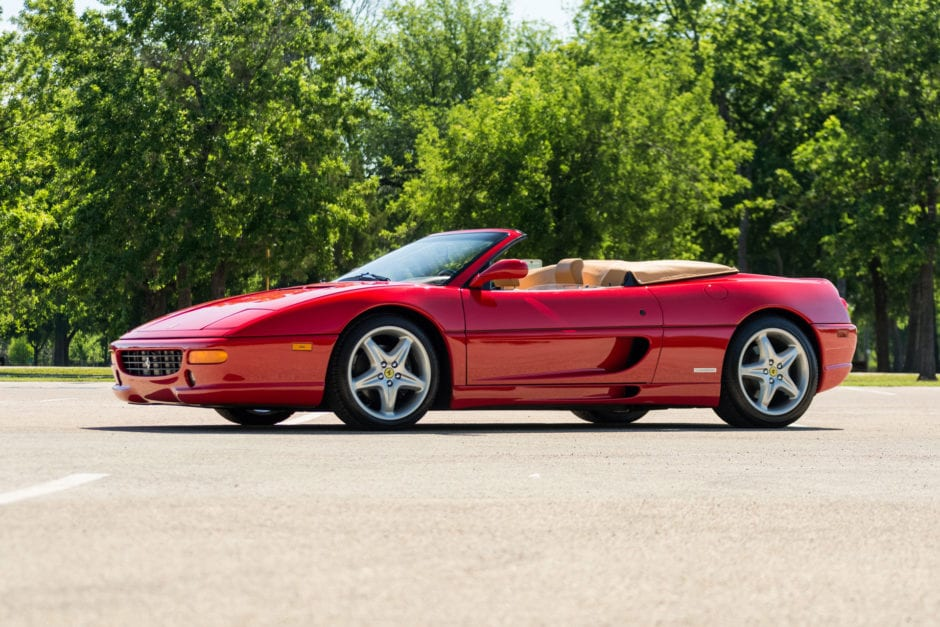 1995 Ferrari F355 Convertible 6 Speed Very Well Sold Turtle Garage